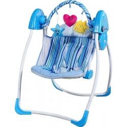 Sdraietta altalena dondolo automatico Cuore blu