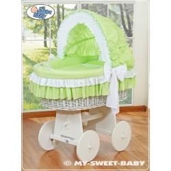 Culla neonato vimini Bellamy - Verde