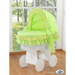 Culla neonato vimini Orsacchiotto - Verde-bianco