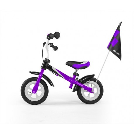DRAGON DELUXE - bici senza pedali con freno - viola
