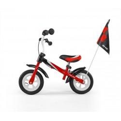 DRAGON DELUXE bici senza pedali con freno - rosso