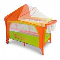 Lettino da campeggio con materassino fasciatoio Mirage Ippona