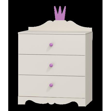 Comò Principessa 3 cassetti