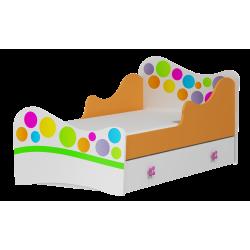 Letto con cassetto Rainbow 180x90 cm