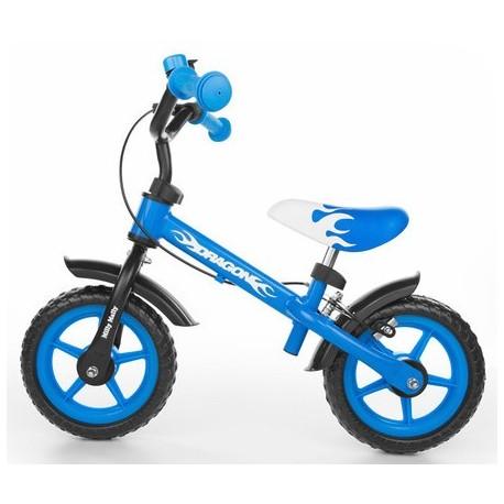 DRAGON bici senza pedali con freno - blu