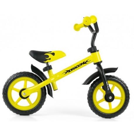 DRAGON bici senza pedali - giallo