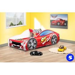 Lettino macchina auto con materasso 140x70 cm