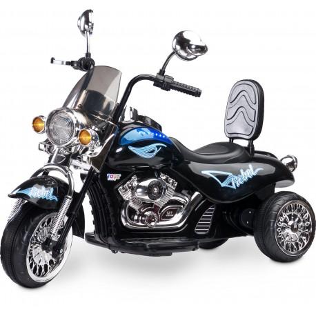 Auto elettrica Motocicletta Rebel Nero