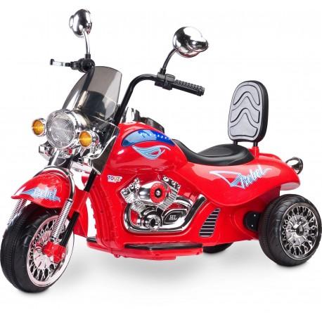 Moto elettrica Rebel Rosso