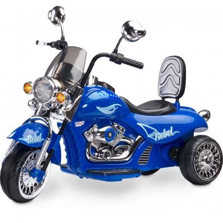 Moto elettrica Rebel Blu