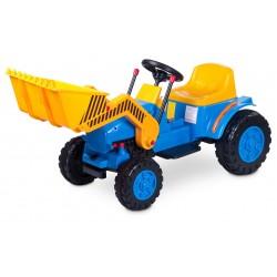 Auto elettrica Bulldozer blu