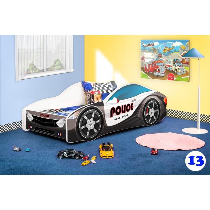 Letto per pompieri auto bambini materasso letto per - Letto bimbo auto ...