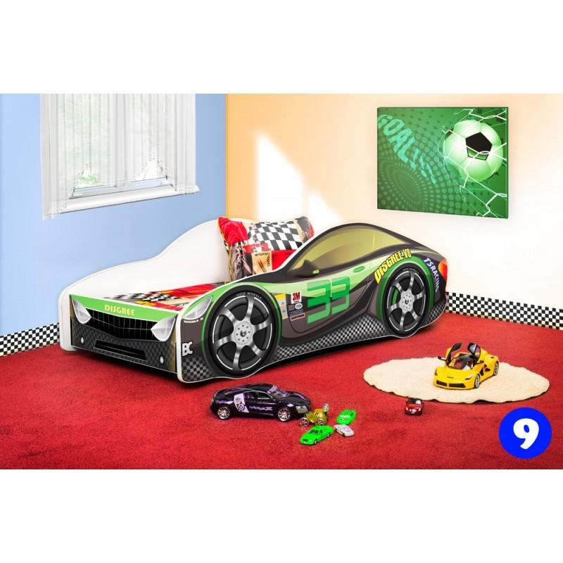 Letti Per Bambini A Forma Di Automobile.Letto Macchina Cool Letto Macchina Da Corsa Con Materasso X Cm With