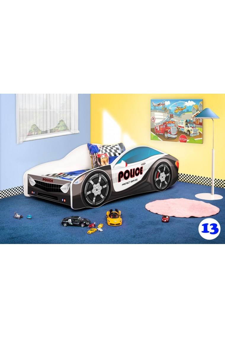 Letti per bambini a forma di macchina excellent - Letto bimbo macchina ...