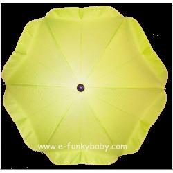 Ombrellino per passeggino verde lime