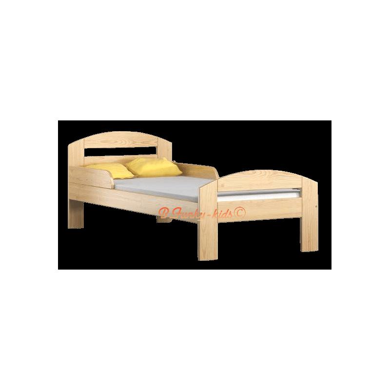 Awesome letto singolo legno contemporary acrylicgiftware - Letto di legno ...