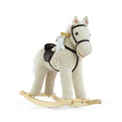 Cavallo a dondolo Pony beige