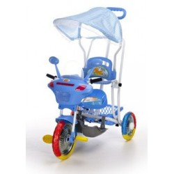 Triciclo Motocicletta blu