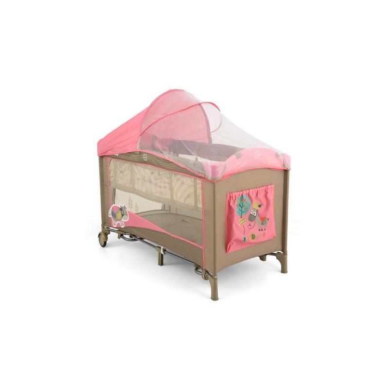 Lettino da campeggio con materassino fasciatoio Mirage Vacca Rosa L...
