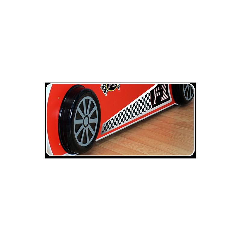 Letto macchina con luci e materasso 180x90 letti a forma di auto - Letto bimbo auto ...