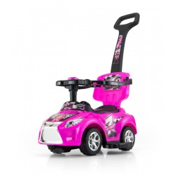 Cavalcabile auto 3 in 1 KID rosa