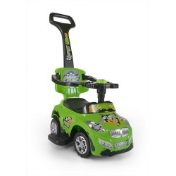 Cavalcabile auto 3 in 1 HAPPY verde