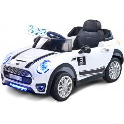 Auto elettrica Maxi 12V Bianco con telecomando