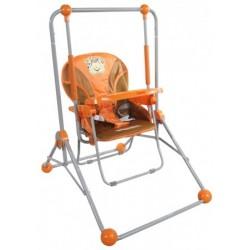 Altalena e sedia 2 in 1 arancione
