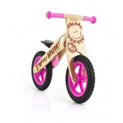 King Ragazza - bici bambini in legno senza pedali