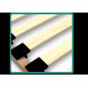 Letto scorrevole estraibile in legno massello con cassetti e materassi Ben 195x80 cm