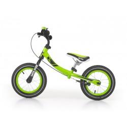YOUNG bici senza pedali con freno - verde
