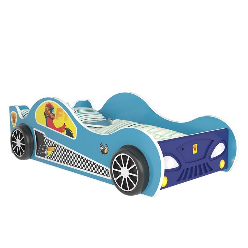 Letto macchina con luci 160x80 cm letti a forma di auto - Letto bimbo auto ...