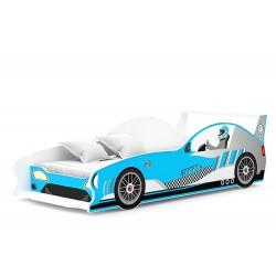 Letto macchina da corsa Formula GT 180x80 cm