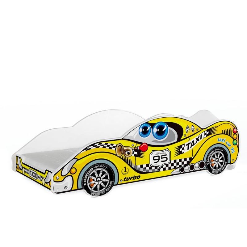 Letto auto macchina bambino bambina 180x90 cm letti a - Letto bimbo macchina ...
