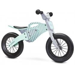Enduro menta bici bambini in legno senza pedali