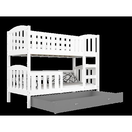 Letto a castello Jacob 2 con cassetto 160x80 cm