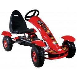 Go-kart Formula Sport rosso