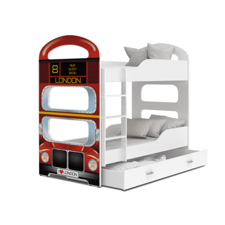 Letto a castello Dominique Autobus di Londra
