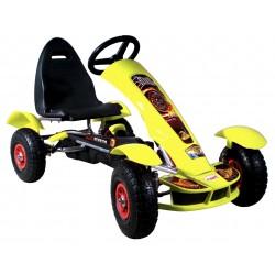 Go-kart Formula Sport giallo