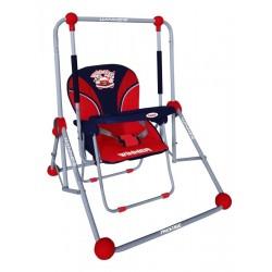 Altalena e sedia 2 in 1 rosso