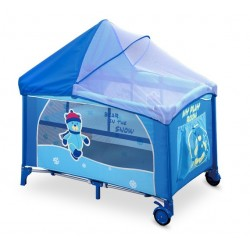 Lettino da campeggio con materassino fasciatoio Mirage Orsetto