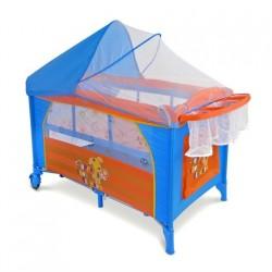 Lettino da campeggio con materassino fasciatoio Mirage Cucciolo