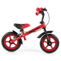 DRAGON bici senza pedali con freno - rosso