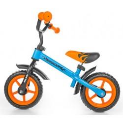 DRAGON bici senza pedali - blu-arancione