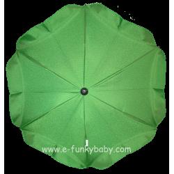 Ombrellino per passeggino verde
