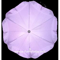 Ombrellino per passeggino viola