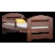 Lettino in legno di pino Kam3 160x70 cm