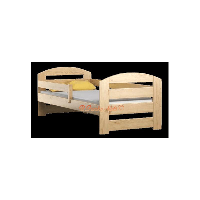 Letto singolo in legno di pino massello Kam3 180x80 cm Letti 180x80 cm