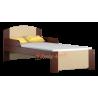 Lettino in legno di pino massello Bill1 160x80 cm