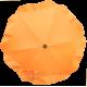 Ombrellino per passeggino arancione
